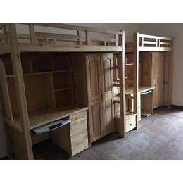 实木双层组合床厂家生产