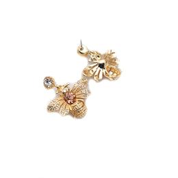 时尚镶嵌锆石蜜蜂 合金 厂家热卖 也可饰品定制