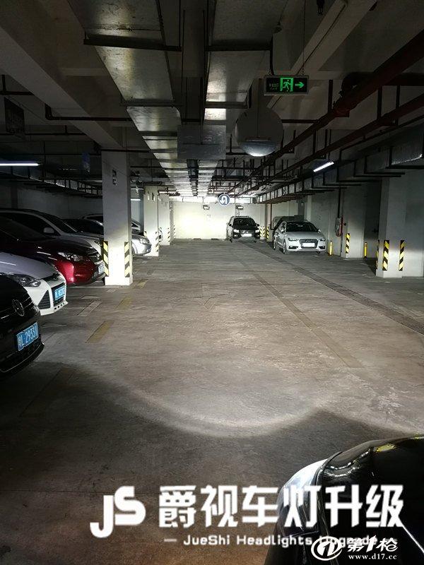 惠州改灯哪里好改灯实体店荣威350s汽车灯光升级改装氙气灯