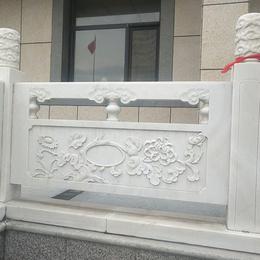 汉白玉栏板 青石八宝栏板 桥梁河道大理石栏杆