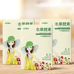固体饮品盒装美再生水果酵素饮品加工定制