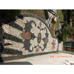 鹅卵石艺术拼图|申达陶瓷厂(在线咨询)|鹅卵石