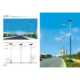 厂家直销6米太阳能路灯灯杆缩略图
