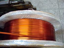 河南155级漆包扁线耐热等级155级漆包扁铜线