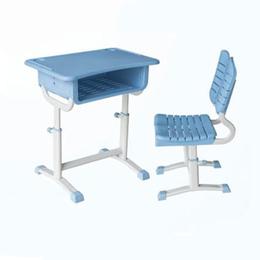 塑料旋转式升降课桌椅缩略图