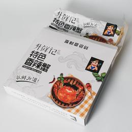 苏州升鲜记 香辣蟹 花雕蟹 生产厂商 全国 招代理商
