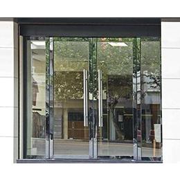 商场玻璃门安装价格,新塘传伍门业,龙岩玻璃门