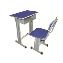 HL-A1953多层板单柱课桌椅