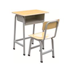 HL-A1960外贸版单人连体课桌椅