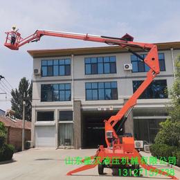 崇左市电动液压升降作业车 18米折臂升降机18米曲臂升降平台