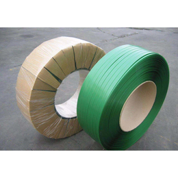 PET打包带 绿色塑钢打包带