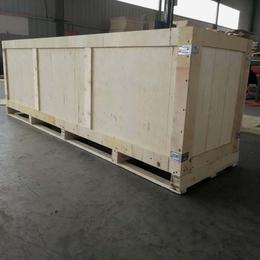 烟台招远市木质包装箱厂家定制胶合板木箱 外形美观