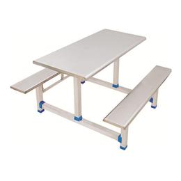HL-A19114四位不锈钢条凳翻转餐桌
