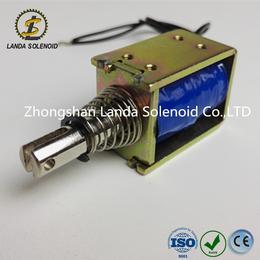 厂家直销广东电磁铁 框架式SQ0837自动门锁电磁铁