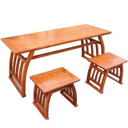 中國式書法教學桌椅廠家