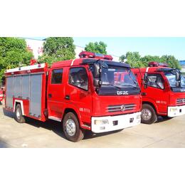 亚博国际版东风多利卡4吨水罐消防车