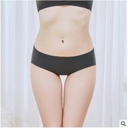 89178外贸一片式无痕印花女士内裤性感女式三角裤现货女裤头