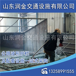 波形护栏板安装_润金交通(在线咨询)_太原波形护栏板
