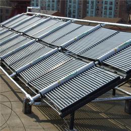 分體式真空管太陽能集熱水器 廠家承接小區壁掛式太陽能熱水工程