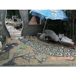 鹅卵石道路_申达陶瓷厂(在线咨询)_吉林鹅卵石