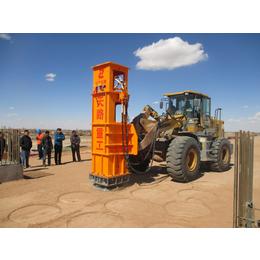 丰南高速液压夯实机TRA40的施工现场-夯实机