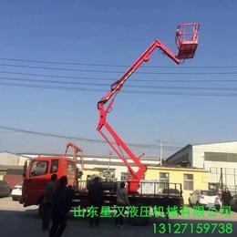 昌吉市柴油機驅動升降作業車報價18米曲臂升降機液壓升降臺供應