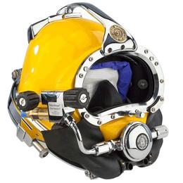 Kirby Morgan深潜套装 KMB37海洋工程打捞头盔