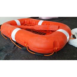 内河船检CCS塑料救生浮 10人简易型救生筏具