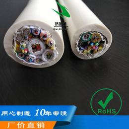 多芯带视频信号控制电源多层屏蔽订制生产阻燃耐磨综合电线电缆