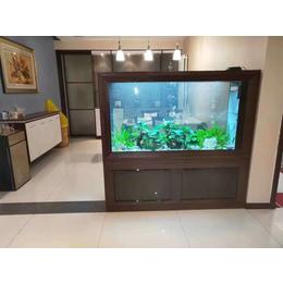 济南高新区齐鲁软件园鱼缸造景