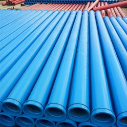 河北恒诚牌3米无缝高压地泵管壁厚4.5管径125厂家价格