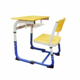 学校固定单人课桌椅 幼儿桌 厂家批发缩略图