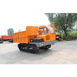 晋中28马力小型履带农用运输车 雪地拉混凝土履带翻斗车经销
