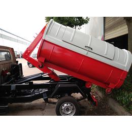 清运垃圾2方3方车厢可卸式垃圾车_运输街道学校垃圾箱专用车 缩略图