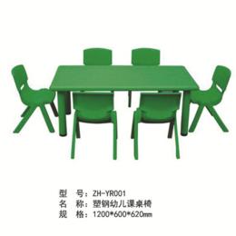 ZH-YR001塑钢幼儿园课桌椅缩略图