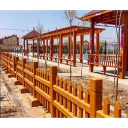水泥仿木护栏河道桥梁景区园林景观护栏