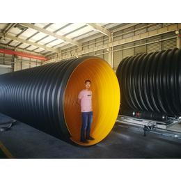 钢带增强波纹管生产厂家 聚乙烯螺旋波纹管