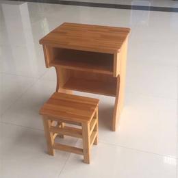 江西厂家实木双抽屉课桌 凳子 热卖批发