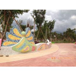 鹅卵石画|申达陶瓷厂(在线咨询)|鹅卵石