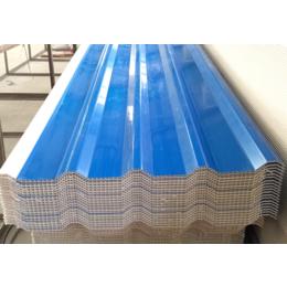 PVC中空瓦厂家 防腐厂房塑料瓦片 波浪瓦 彩钢瓦生产