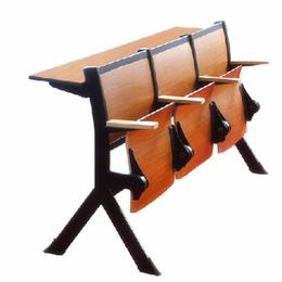 礼堂椅生产 翻转学生课桌椅 阶梯教室椅批发