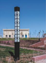 珠海现代庭院景观灯生产商|七度照明-多年景观灯定制生产经验