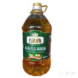 绿典压榨山茶调和油  5L