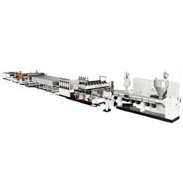 SJZ120新型建筑模板设备 PP中空建筑模板生产线亚博国际版