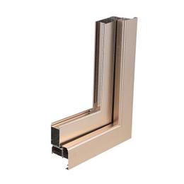 定制50非断桥门窗 铝合金卧室隔音窗 平开窗 缩略图