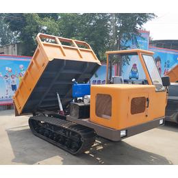 农用橡胶履带运输车价格  水田拉砂石的履带车多少万