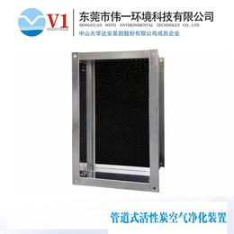 管道式活性炭空气净化器厂家、管道式活性炭空气净化器、v1