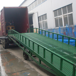 江苏省3吨叉车装卸过桥设计 星汉8吨登车桥制造厂家