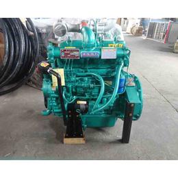 潍坊4105固定动力型柴油机带粉碎机