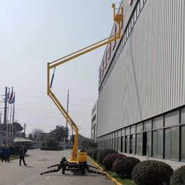 14米曲臂升降机 南昌市高空作业平台 星汉高空维修升降车报价